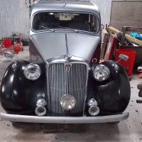 1949 Rover P3 75/6