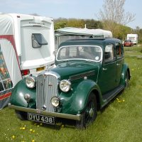 1937 Rover 12 Six Light Sports Saloon